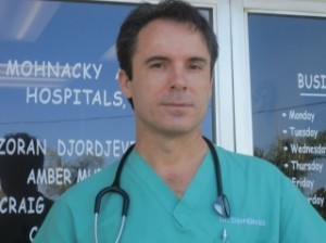 Dr. Zoran Djordjevich, partner and chief medical officer at Carlsbad's Mohnacky Animal Hospital.